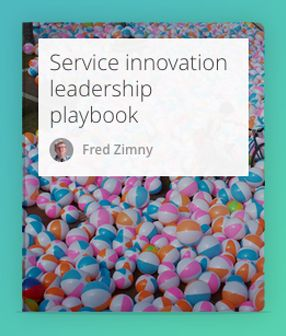 The service innovation leadership playbook provides you with the capability to understand and transform service developments. Service has become the dominant paradigm of this new era. The playbook includes papers, report and thesis's. For any reflection, please contact the author at fjg.zimny@serve4impact.com  #ServiceInnovation #Leadership