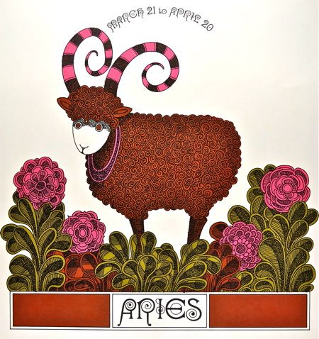Aries: scan from a Scott paper company promotion from 1966