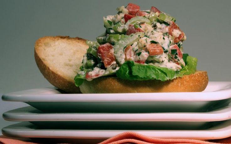 Halibut Salad Recipe Grilled Halibut Stuffed Peppers Halibut