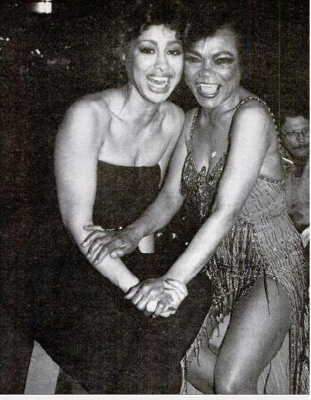 Phyllis Hyman and Eartha Kitt