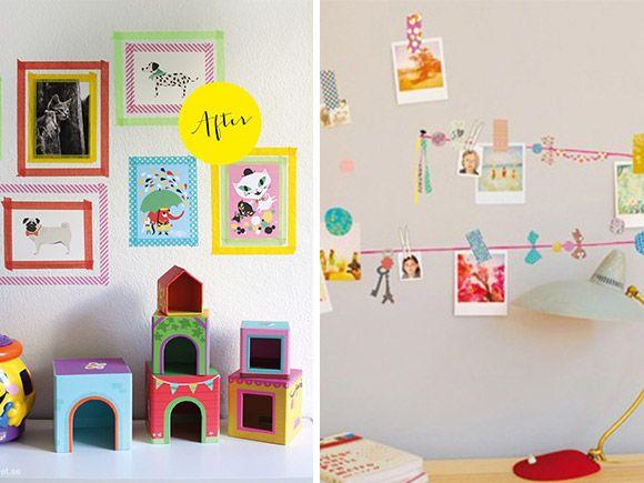 17 beste idee n over muur versieren op pinterest kleine for Kinderkamer versiering