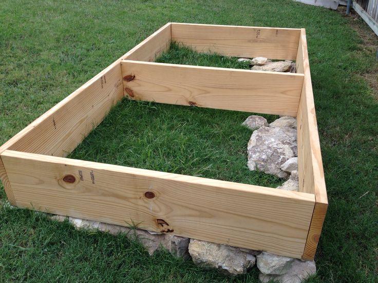 raised bed phase 1 planning to grow a fall crop of broccoli carrots - Raised Bed Frame