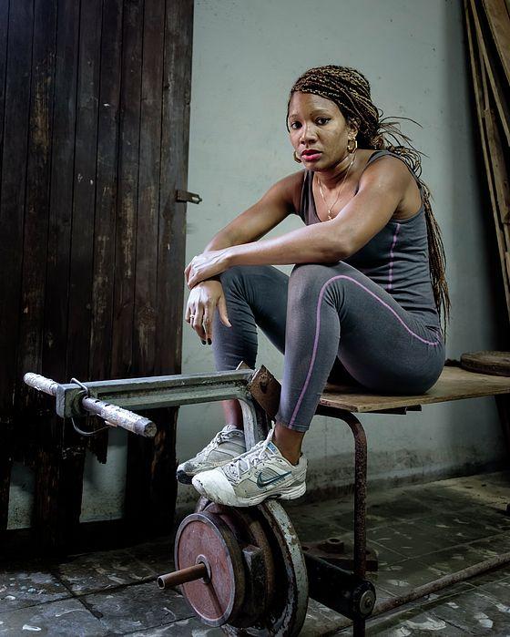 Female Boxer Havana Cuba - Joan carroll