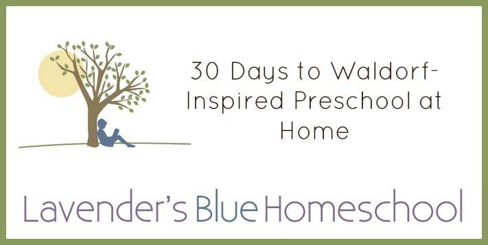 Welcome to 30 Days to Waldorf-inspired Preschool at Home! Scroll to the  bottom of this post for a list of all the blog posts as they go live!  Pin Background Final  I hope this blog series will help you understand the basics of Waldorf  early childhood. But even more than that, I hope it will