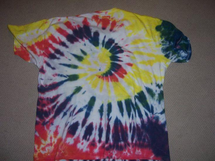 Tie Dye Instructions for Spiral Mickey Shirt Tie dye