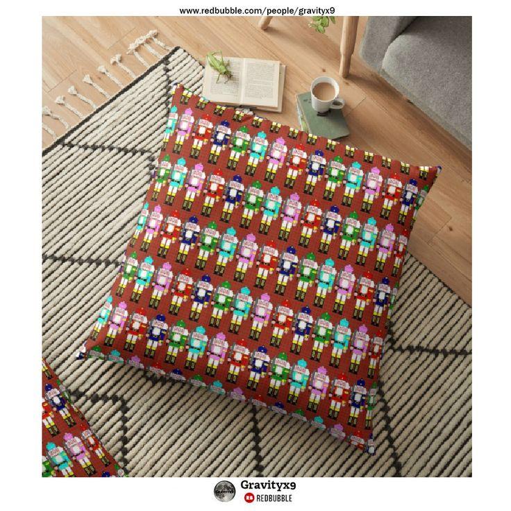 * Christmas Nutcracker Pillows by Gravityx9 at Redbubble ...