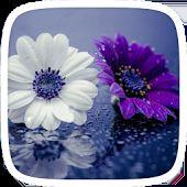 Μωβ λουλούδια Θέμα