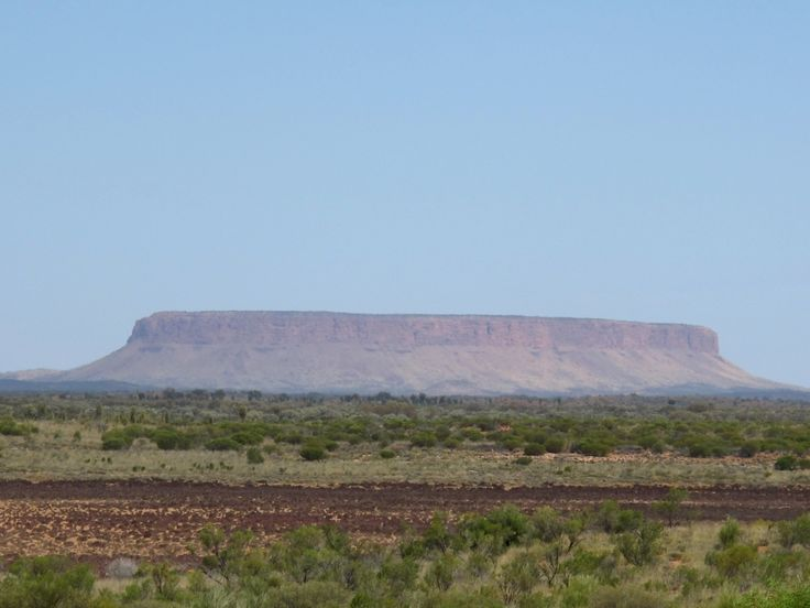 "We were amazed to see, from 120 km out, what we took to be Uluru. Even when we stopped at ""Mount Conner Lookout"", the penny didn't drop, because out there, the slightest hummock is a mountain. Anyhow, that was Mt Conner, alias Fooluru."