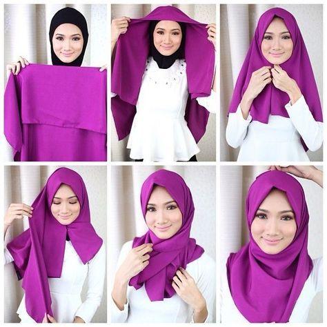 Vous Êtes Voilée ?! Voici 20 Styles De Hijab Fashion Et Modernes   Coiffure simple et facile