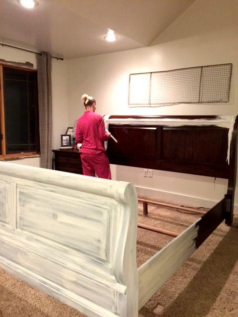 Pintura y muebles Distressing
