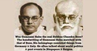 Is it true that Bhagwanji, also known as Gumnami Baba was actually Netaji Subhash Chandra