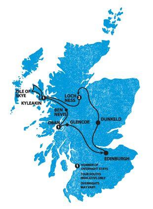 Highland Fling | Haggis Tours (western Scotland)