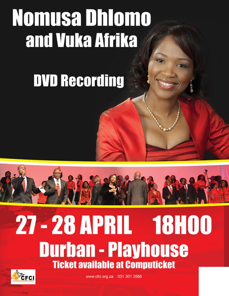 She founded the group in 2004 when she recorded the first album which was titled Vuka Afrika. Nomusa is also co pastoring the church called Covenant Fellowship Church International with more that 21 satellite churches across South Africa and overseas with her husband Apostle Collins.