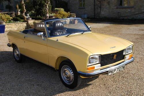 1974 Peugeot 304S Convertible via CarAndClassic