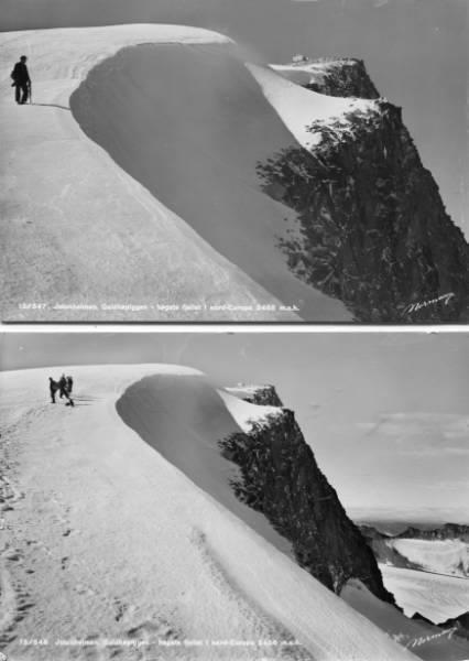 Jotunheimen *Galdhøpiggen* TO nesten like, men ulike kort! - Selges av krh01 fra Moss på QXL.no
