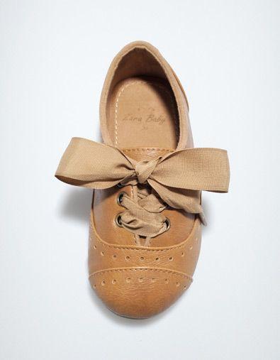 BROGUE BLUCHER - Shoes - Baby girl (3-36 months) - Kids - ZARA United States $35.90