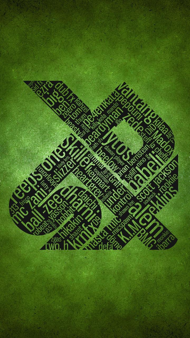 swissbeatbox allstars artwork GREEN - Smartphone Wallpaper