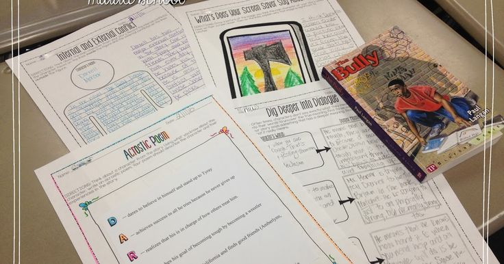 Musings from the Middle School: Literature Circles
