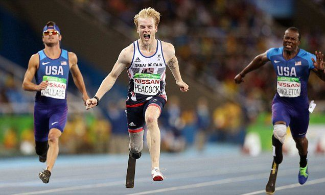 Peacock hails 'unbelievable' T44 100m repeat in Rio