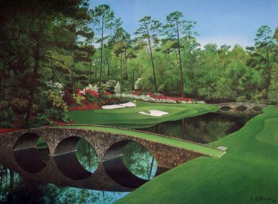 Augusta National - If anyone can get a tee time, please let me know.  Willing to play any time over the next 50 years
