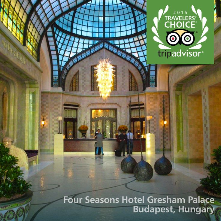 Four Seasons Hotel Gresham Palace in Budapest, Hungary