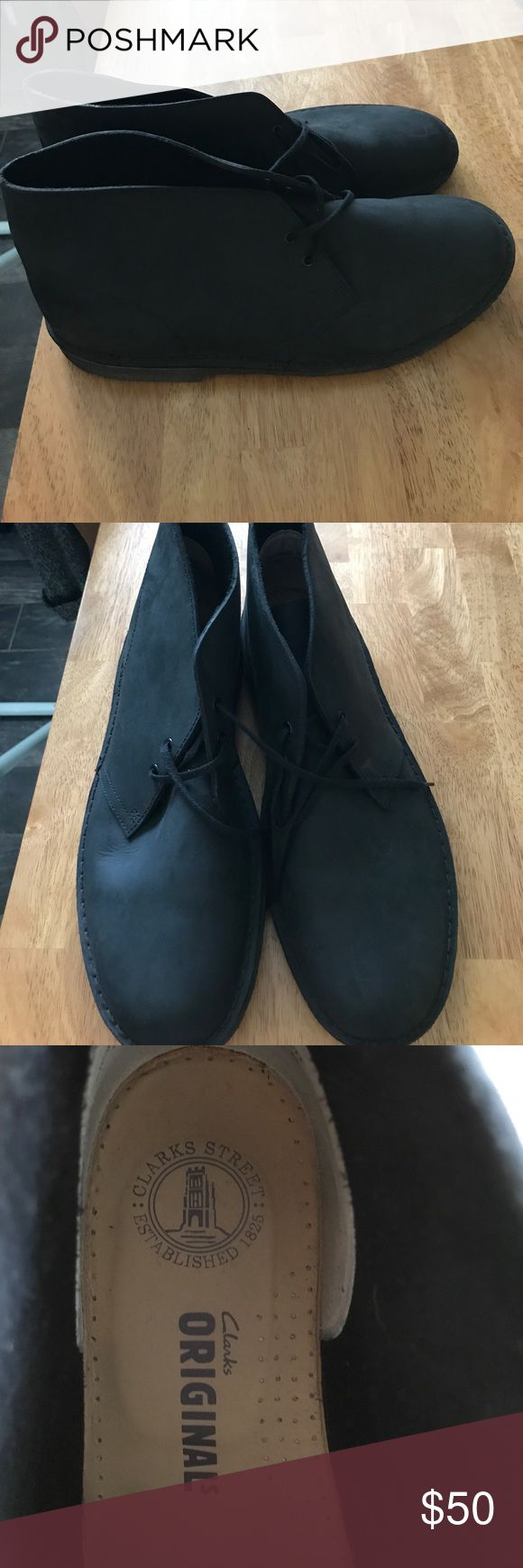 Size 11 Mens Clarks Boot Worn once and in almost perfect condition!! No box. Make me an offer! Clarks Shoes Boots