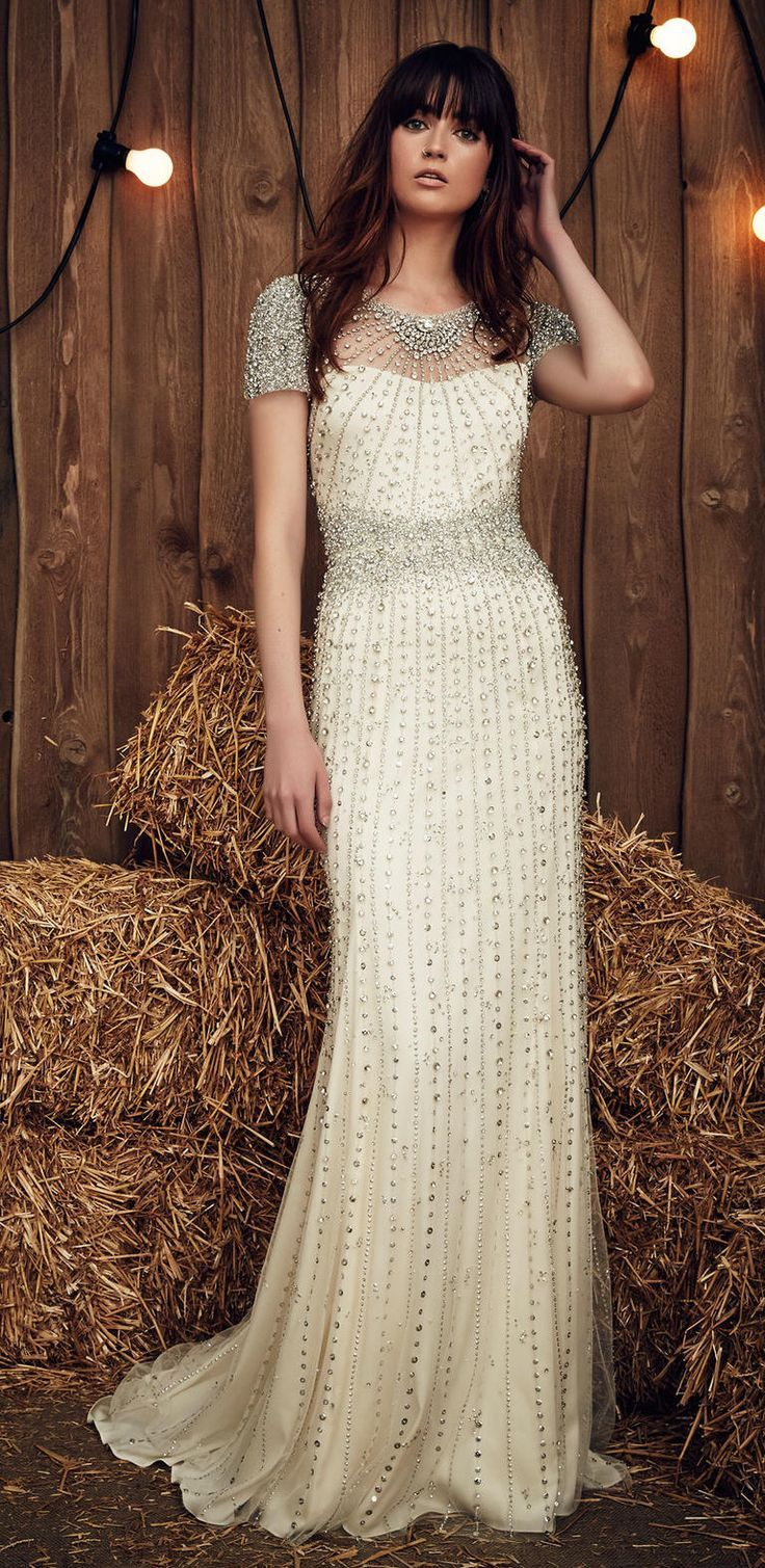 48 best images about bridal fashion 2016 on pinterest for Jenny beckman wedding dresses