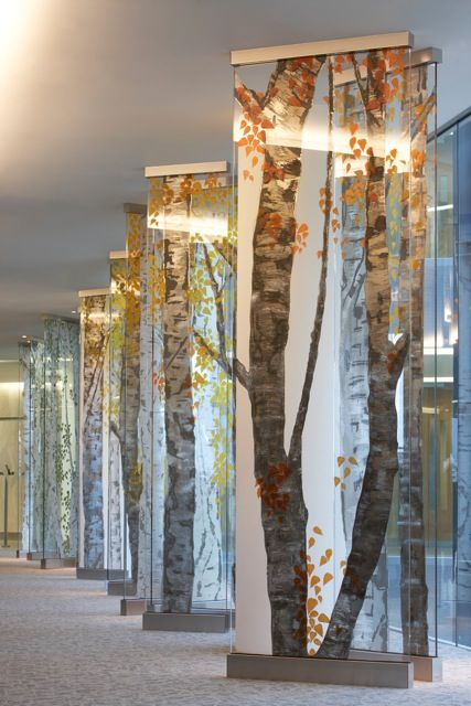Trees. Office Furniture trends. Bringing the outdoors indoors