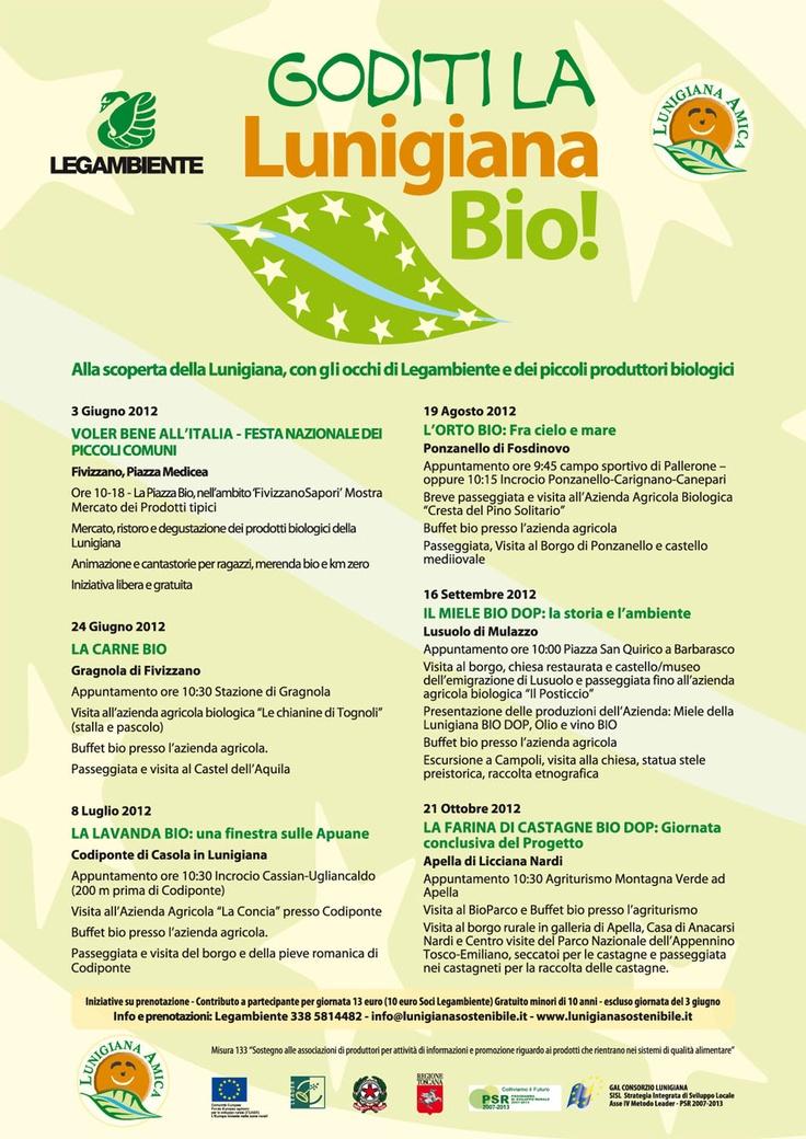 Lunigiana Bio events