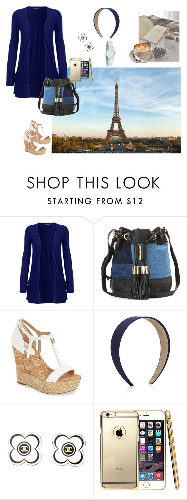 """""""resort wear 7"""" by sdi431872 on Polyvore featuring WearAll, See by Chloé, MICHAEL Michael Kors, Accessorize, Chanel, DKNY, women's clothing, women, female and woman"""