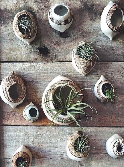 Ceramic Wall Pods by Jo Boyer