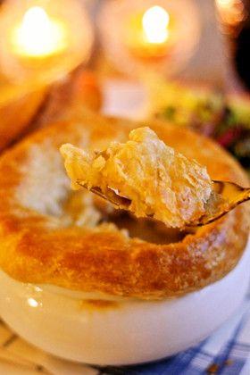 アメリカの味☆クリーミーチキンポットパイ