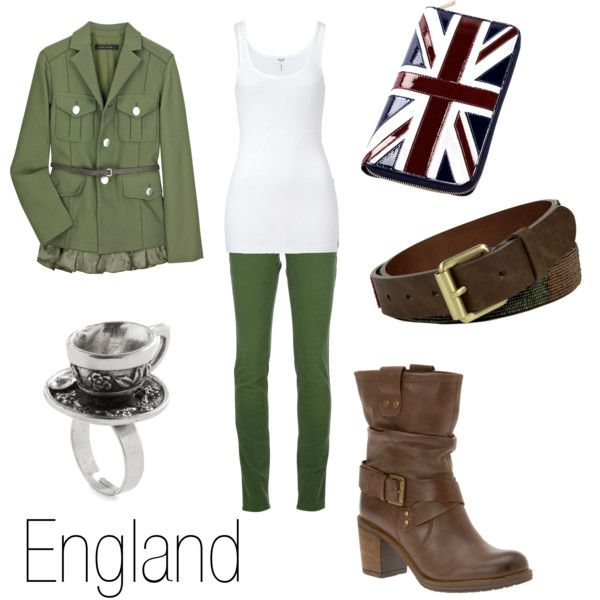 """""""England"""" by ja-vy on Polyvore. ....I can dress like my favorite Hetalia character. :'D"""