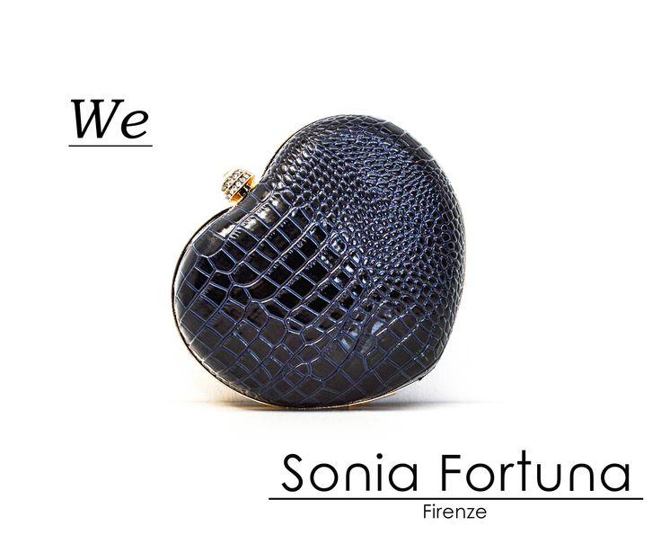 Sonia Fortuna Heart Clutch Spring Summer 2015