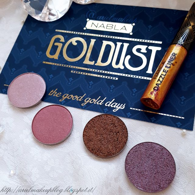 Ariel Make Up ~ Make Up & Beauty with a Princess Touch: ♕ Haul ♕ Nabla Cosmetics ~ Goldust Collection ♕
