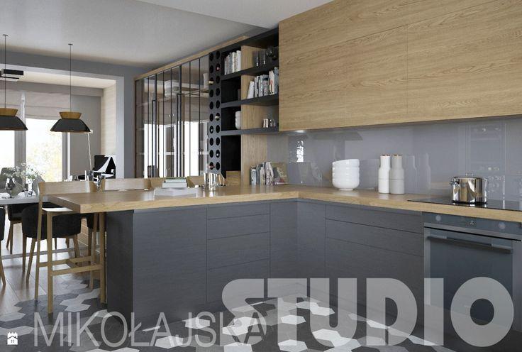 kuchnia-drewno - zdjęcie od MIKOŁAJSKAstudio - Kuchnia - Styl Industrialny - MIKOŁAJSKAstudio