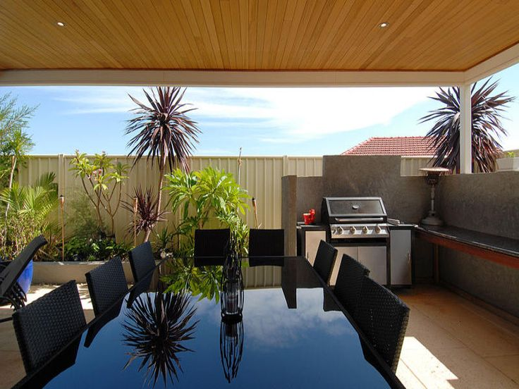 outdoor area ideas with bbq area