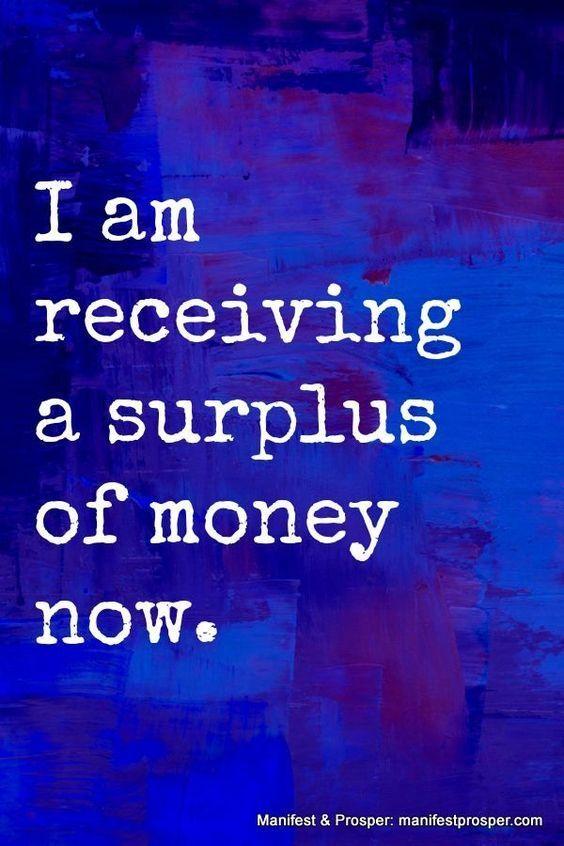 money affirmation #BenefitsofMeditation
