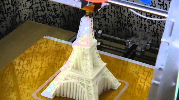 3D Printing: The Eiffel Tower  //Reprap Prusa i3