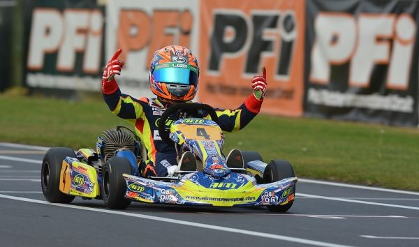 Tom Wood, the 12-year-old Kart Racer sponsored by Q8Oils, has had a busy 2014 season contesting the Little Green Man and Super One British Cadet Championships with his team Aim Motorsport and finished the season on a high with a fantastic double at the PFI Circuit at Brandon.