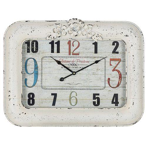 Blanco Cream and Black Clock