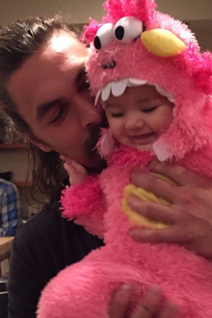 Mandatory Viewing: 9 Photos of Jason Momoa With Babies
