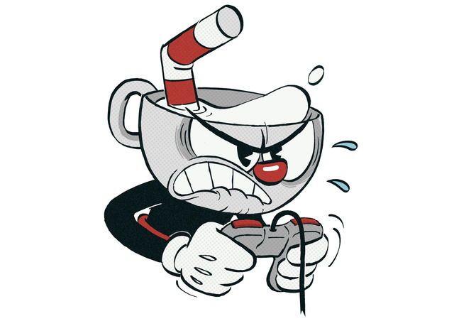Moi quand je joue à Cuphead : Don't Deal with the Devil... CE JEU EST TELLEMENT DUR !!!