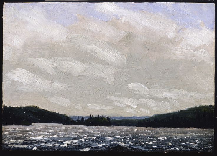 Tom Thomson Catalogue Raisonné | Islands, Canoe Lake, Spring 1913 (1913.02) | Catalogue entry
