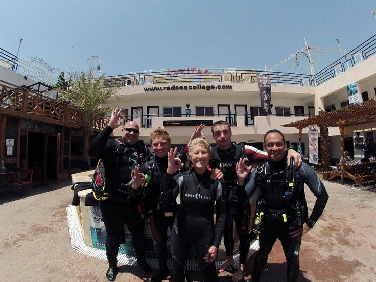 Instructor Development Course (IDC) with Red Sea Diving College.