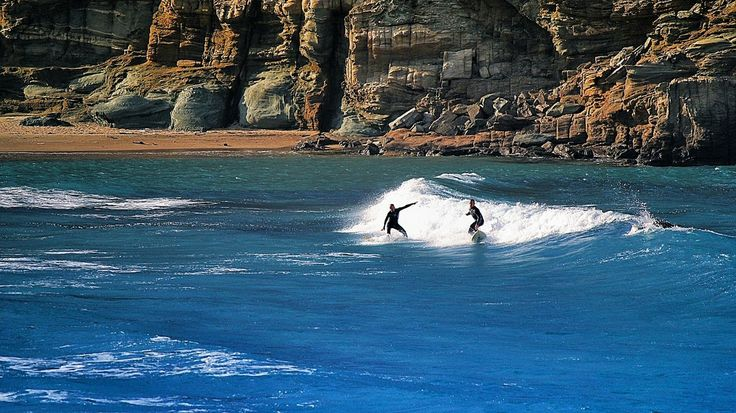 Surfing at Tinos Island
