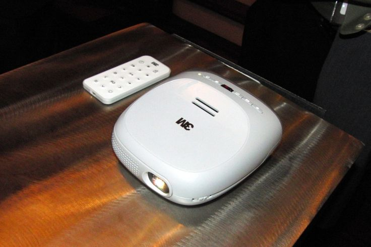 3m streaming projector powered by roku potent palm size for Palm projector