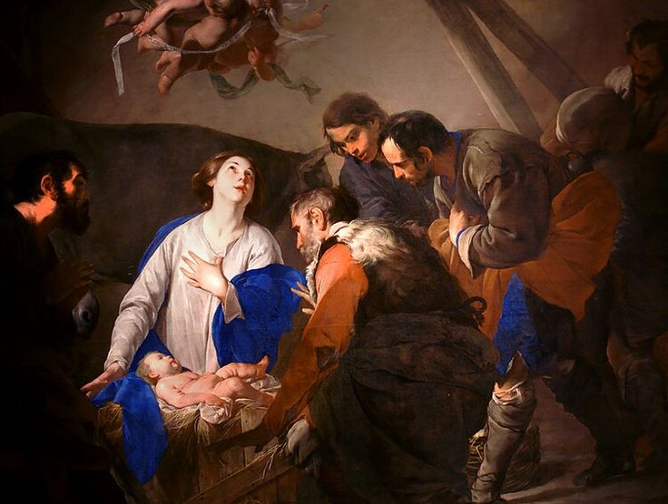 Adoration of the Shepherds, Bernardo Cavallino (1616–1656)