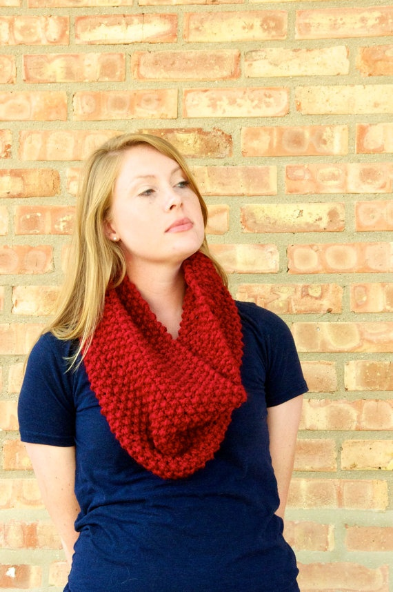 looks so cozy and warm, love the color! Wish I could crochet or knit!