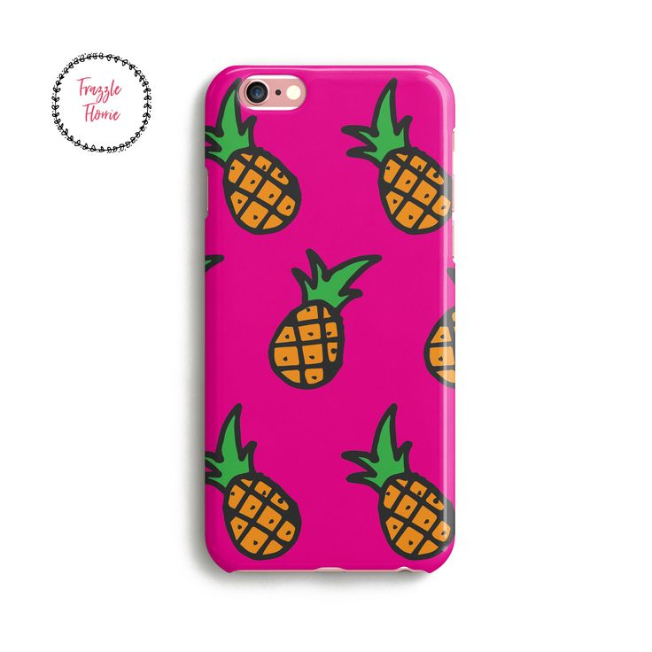 Pineapple phone case | Personalised Phone Case | iphone7 | iphone6 | iphone | Samsung Galaxy | Cute gift | Pineapples print | by FrazzleFlorrie on Etsy https://www.etsy.com/uk/listing/534815437/pineapple-phone-case-personalised-phone